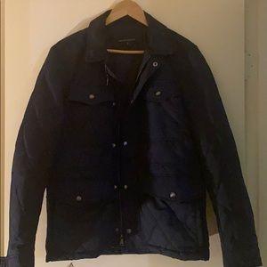 Men's Jacket banana republic - med - navy blue